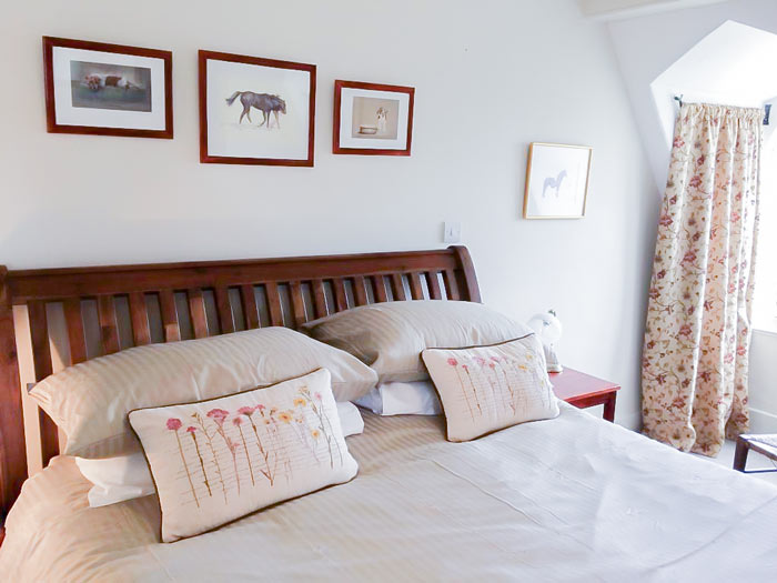 Super king size room Dartmoor Bed and Breakfast